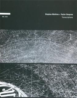 Stephan Mathieu and Taylor Deupree - Transcriptions (2009)