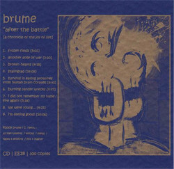 Brume - After The Battle (2009)