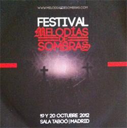 VA - Festival Melodias De Sombras (2012)