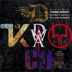 VA - DWA FTW - DWA Festival Tour - Europe 2012 (Limited Japanese Edition) (2012)