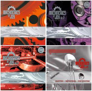 VA - Machineries Of Joy Vol. 1-4 (2001-2007)
