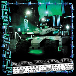 VA - Resistanz: International Industrial Music Festival (2012)