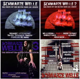 VA - Schwarze Welle 1-4 (2010-2012)