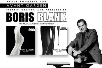 Boris Blank - Avant Garden Vol. 1-4 (2012)