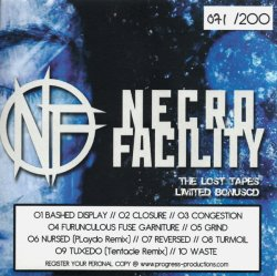 Necro Facility - Wintermute (Including Limited Edition Bonus CD - The Lost Tapes) (2011)