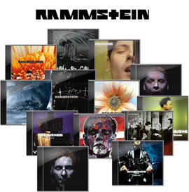 Rammstein Discography 1994-2012