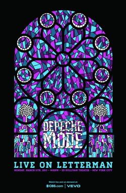 Depeche Mode - Live On Letterman (2013)