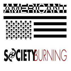 Society Burning - Americant (Single) (2016)