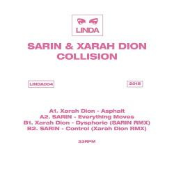 SARIN & Xarah Dion - Collision (EP) (2018)