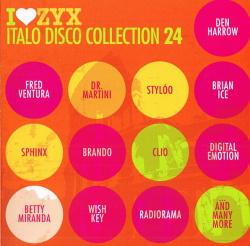 VA - I Love ZYX Italo Disco Collection 24 (3CD) (2017)