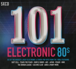 VA - 101 Electronic 80's (5CD) (2017)