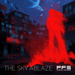 Purple Fog Side - The Sky Ablaze (Single) (2019)