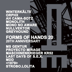 VA - FORMS OF HANDS 20 - 20th Anniversary (2020)